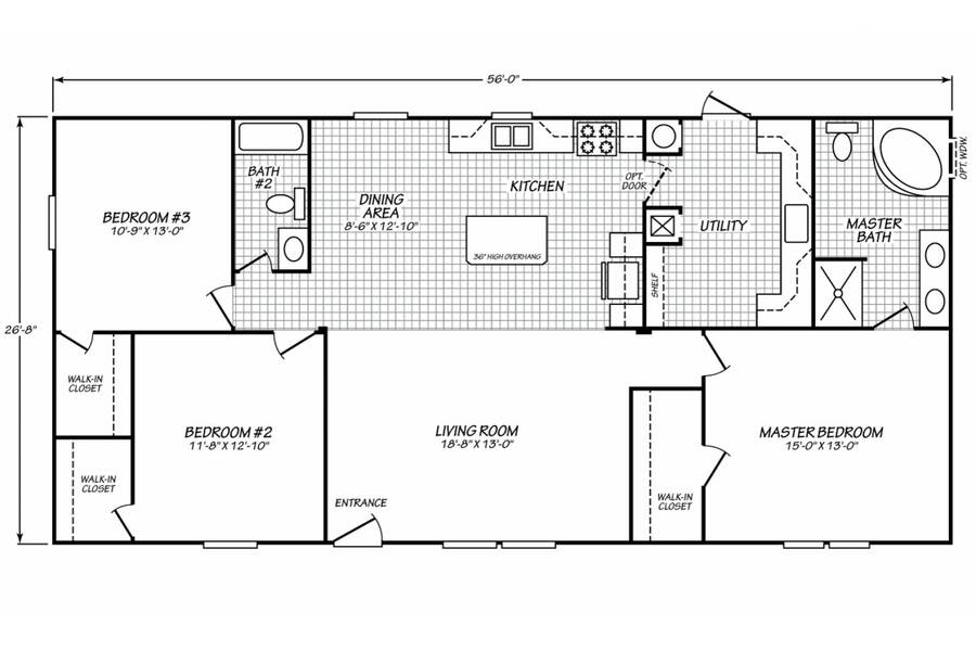 Floor plan for STOCK#3